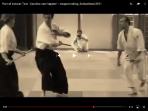 Aikido Weapon taking
