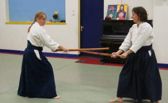 Aikido bokken bukiwaza Aikicontact Carolina van Haperen Amsterdam