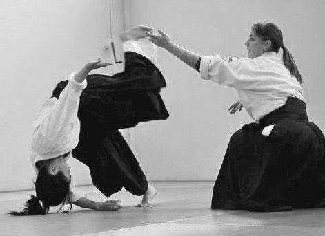 Carolina van Haperen Aikido Amsterdam AikiContact