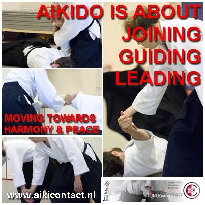 Aikido Amsterdam AikiContact Carolina van Hapern