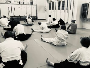 Integral Aikido stretching