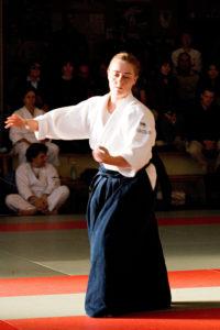 Carolina van Haperen AikiContact Aikido Amsterdam