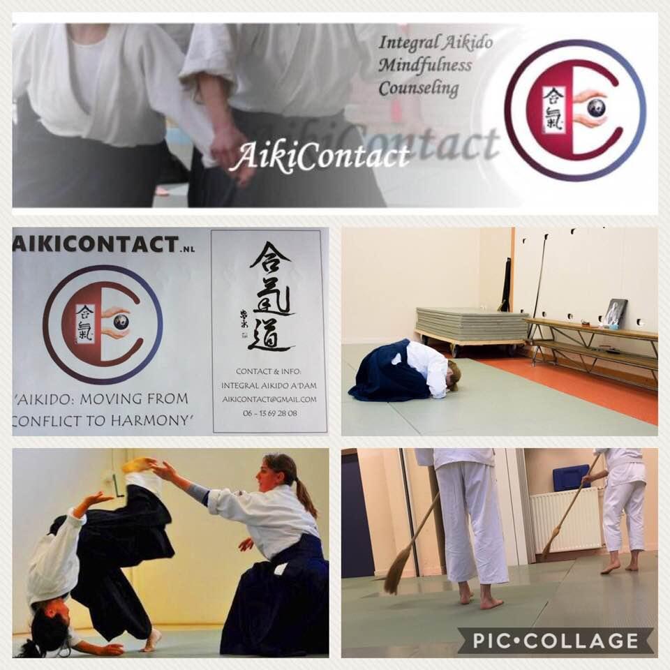 Aikicontact Aikido zelfverdedigingskunst