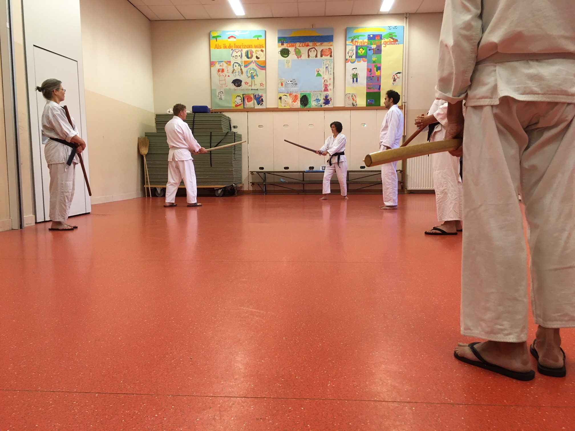Integral Aikido Amsterdam training
