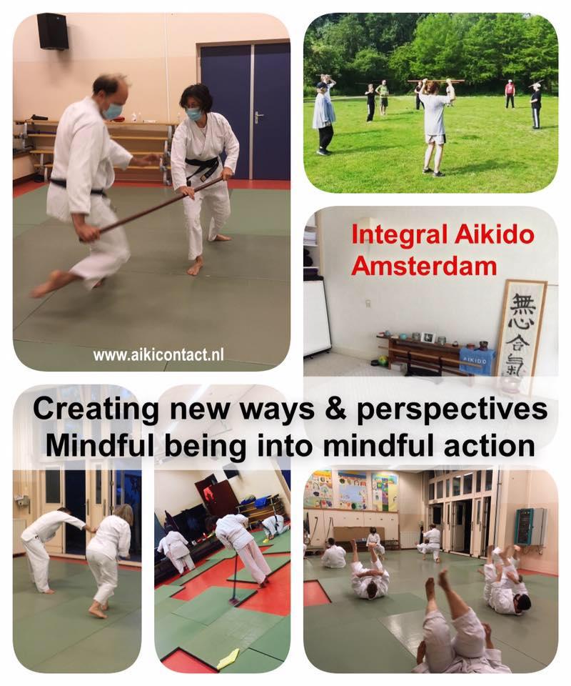 Integral Aikido in Amsterdam Carolina van Haperen